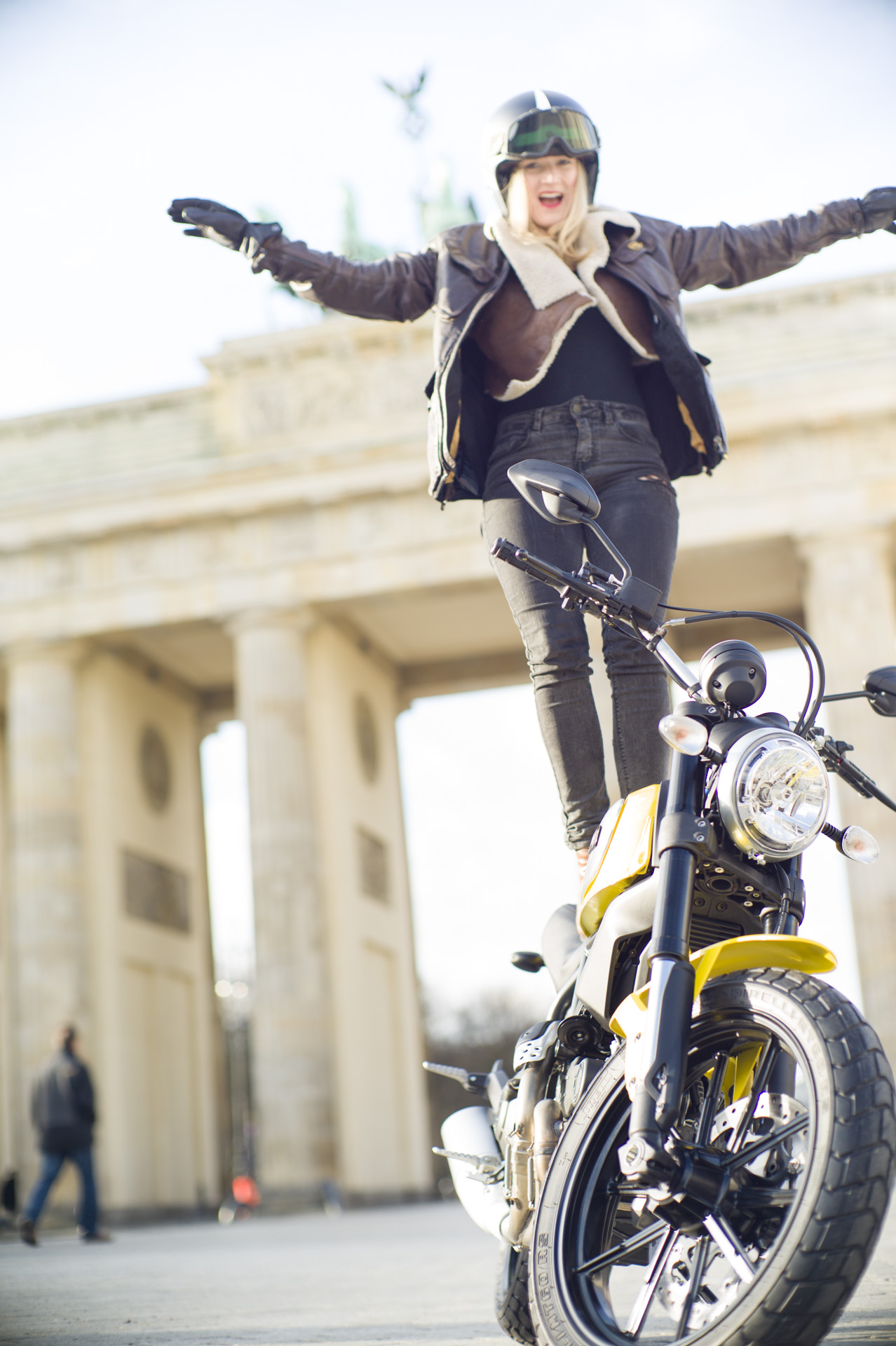 Hermann Koepf Ducati Scrambler Berlin L1035928 Brummm Magazine