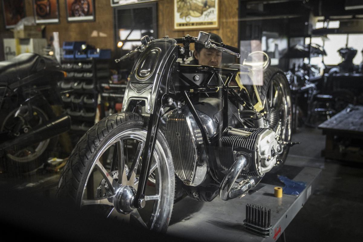 Custom Works ZON BMW R18 build 'Departed' | BRUMMM Magazine